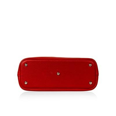 Lot 2 - Hermes Rouge Garance Togo Bolide 31