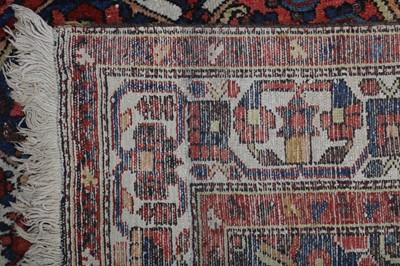 Lot 20 - A BAKHTIARI KELLEH OF GARDEN DESIGN, WEST PERSIA