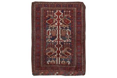 Lot 52 - A VERY FINE ANTIQUE BESHIR RUG, TURKMENISTAN