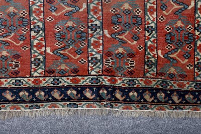 Lot 17 - AN ANTIQUE AFSHAR RUG, SOUTH-WEST PERSIA