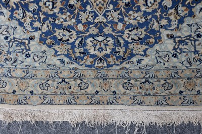 Lot 1 - AN EXTREMELY FINE NAIN RUG, CENTRAL PERSIA