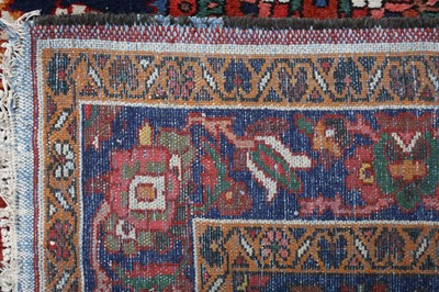Lot 8 - A FINE BAKHTIARI RUG, WEST PERSIA