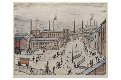 Lot 82 - LAURENCE STEPHEN LOWRY, R.A. (1887-1976)