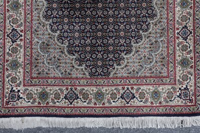 Lot 6 - A  VERY FINE TABRIZ RUNNER, NORTH-WEST PERSIA