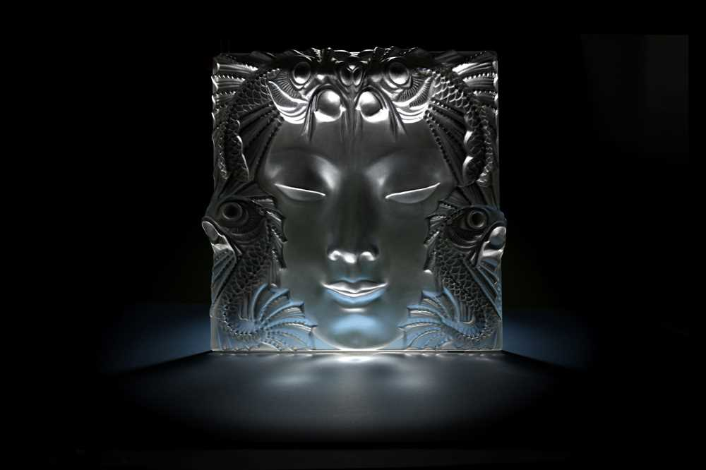 Lot 32 - RENE LALIQUE ( FRENCH, 1860-1945)