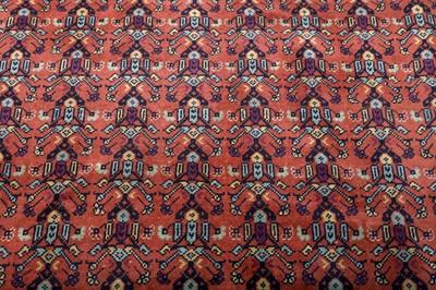 Lot 35 - A FINE KHOTAN CARPET, EAST TURKESTAN