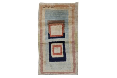 Lot 91 - A FINE GABBEH LARGE RUG, SOUTH-WEST PERSIA