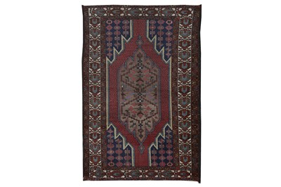 Lot 82 - A MAZLAGHAN RUG, WEST PERSIA