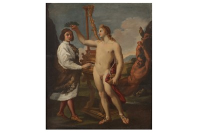 Lot 9 - AFTER ANDREA SACCHI (ROME 1599-1661)