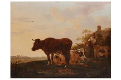 Lot 17 - ATTRIBUTED TO JACOB VAN STRIJ (DORDRECHT 1756-1815)