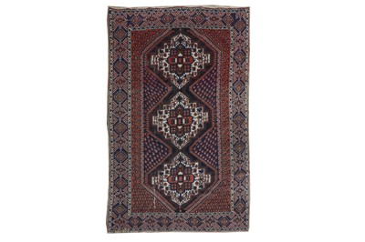Lot 61 - AN AFSHAR RUG, SOUTH-WEST PERSIA