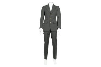 Lot 28 - Vivienne Westwood Dark Grey Wool Suit - Size 44