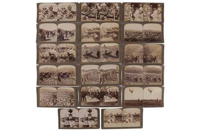 Lot 18 - Underwood & Underwood Stereo cards, Russo-Japanese War, 1904-1905