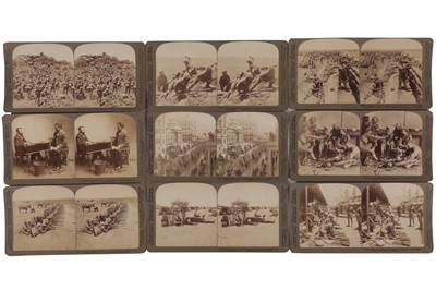 Lot 27 - Underwood & Underwood Stereo cards, Second South African War, 1899-1901