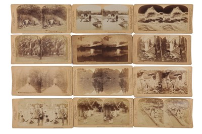Lot 20 - Underwood & Underwood Stereo cards, United States and Mexico, 1889-1893
