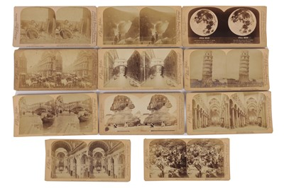 Lot 28 - Underwood & Underwood Stereo cards, Europe and Northern Africa, 1887-1893