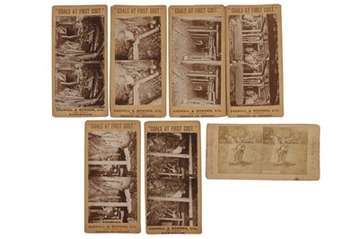 Lot 25 - Stereo views, various publishers, c.1862-1900s