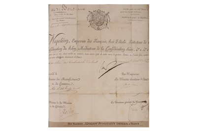 Lot 817 - Autograph Album.- Incl. Napoleon Bonaparte