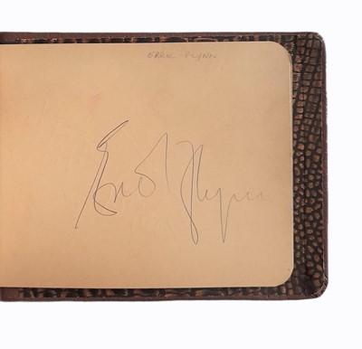 Lot 824 - Autograph Albums.- Actors & Entertainers