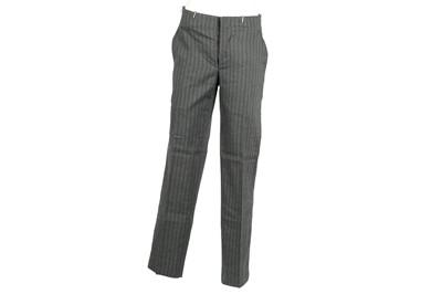Lot 37 - Alexander McQueen Grey Pinstripe Trouser - Size 46