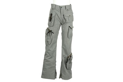 Lot 39 - Dolce & Gabbana Grey Military Cargo Trouser