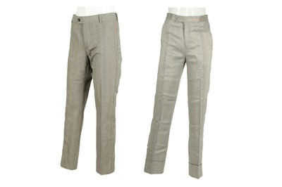 Lot 44 - Two Alexander McQueen Grey Trousers - Size 46