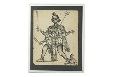 Lot 395 - THE HINDU GOD OF DESTRUCTION, SHIVA