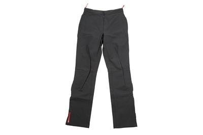 Lot 41 - Prada Slate Grey Technical Nylon Trouser - Size 42
