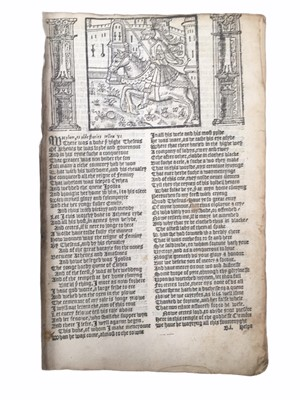 Lot 538 - Chaucer. Works [1550?]