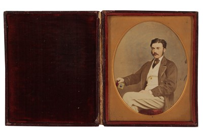 Lot 13 - A Pair of Cased Images