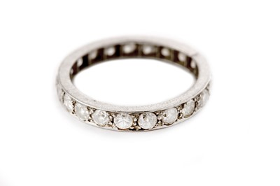 Lot 4 - A diamond eternity ring