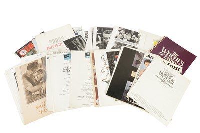 Lot 89 - A LARGE COLLECTION OF MOVIE PROMOTIONAL EPHEMERA