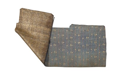 Lot 178 - A FRAGMENT OF BROCADED SILK