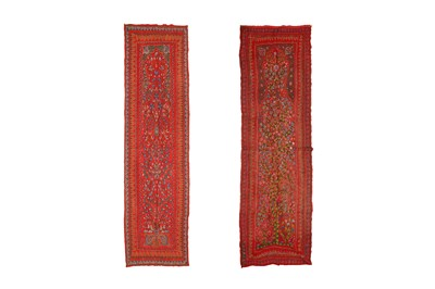 Lot 127 - A MATCHING PAIR OF PATEH PORTIERES