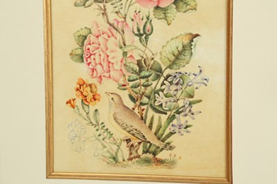 Lot 110 - TWO FLORAL STUDIES WITH THE GOL-O-BOLBOL MOTIF