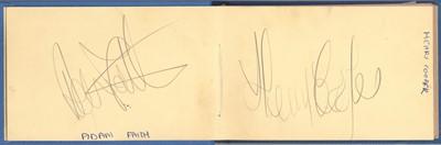Lot 816 - Autograph Album.- Incl. Henry Cooper