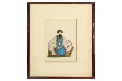 Lot 173 - A PORTRAIT OF A MEMBER OF THE RELIGIOUS ELITE