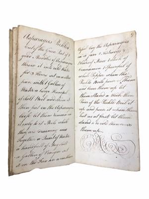 Lot 521 - Cookery. Manuscript etc.
