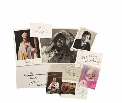 Lot 840 - Autograph Collection.- Miscellaneous