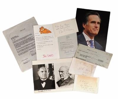 Lot 841 - Autograph Collection.- Miscellaneous