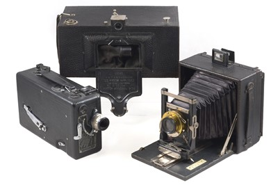 Lot 17 - Kodak No 4 Panoram, Model D & Other Cameras.