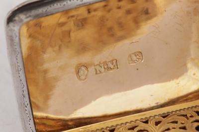 Lot 24 - A William IV sterling silver vinaigrette, Birmingham 1836 by Nathaniel Mills