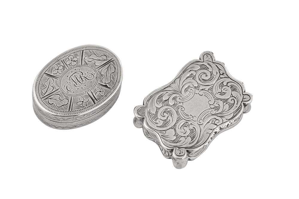 Lot 31 - A Victorian sterling silver vinaigrette, Birmingham 1845 by William and Edward Turnpenny
