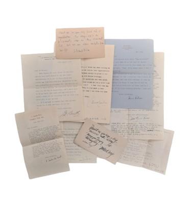 Lot 842 - Autograph Collection.- Miscellaneous