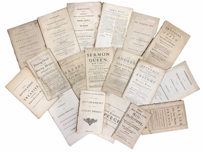 Lot 534 - Collection of Various c.18th & 19th Century Pamphlets.