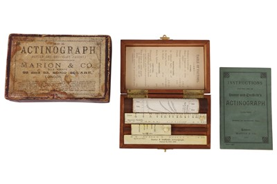 Lot 39 - A Hurter & Driffield's Actinograph Exposure Calculator