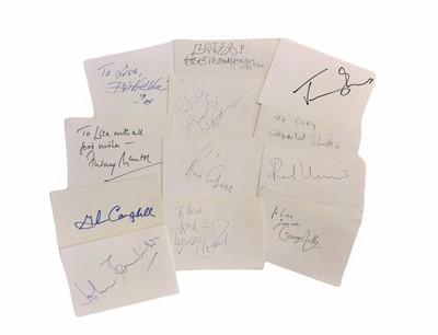 Lot 843 - Autograph Collection.- Miscellaneous