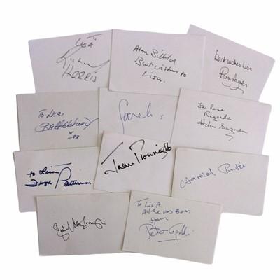 Lot 844 - Autograph Collection.- Miscellaneous