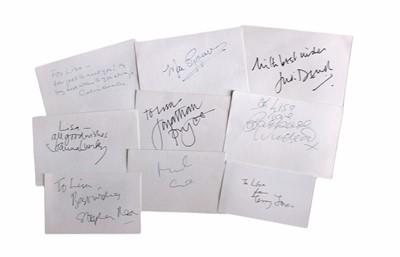 Lot 845 - Autograph Collection.- Miscellaneous