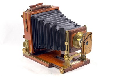 """Lot 45 - A Rare, Quarter Plate Lancaster """"Extra Special"""" Instantagraph with See-Saw Shutter."""